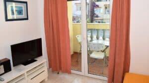 Balcony Studio apartment